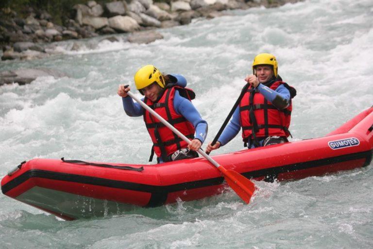 Descente en canoë-raft en Savoie