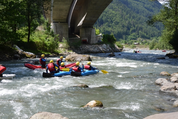 activité rafting Grenoble