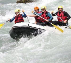 Rafting pour EV / EVJF en Savoie