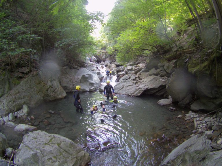 Week-end Canyoning EVG, Lyon