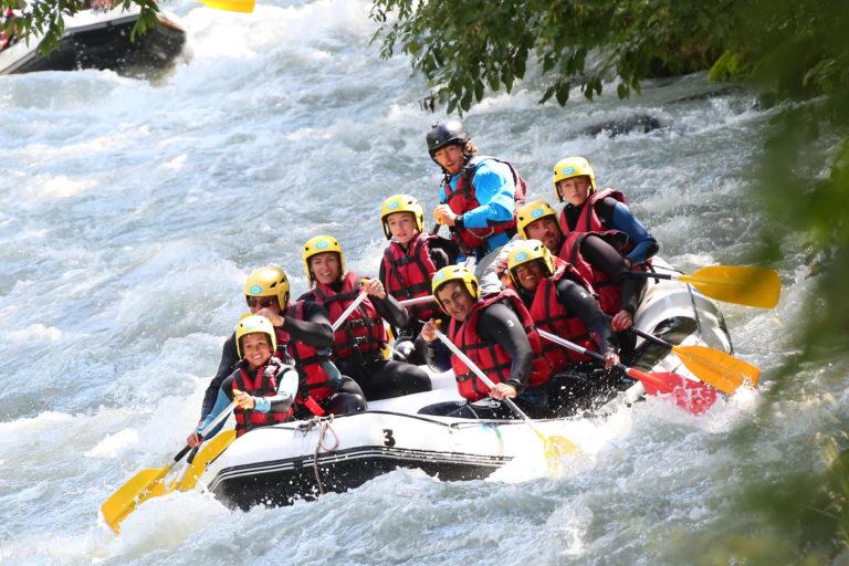Weekend Rafting-sur-lIsère en Savoie