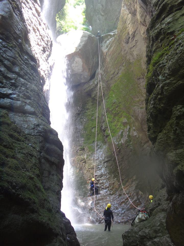 Canyoning Savoie et Haute savoie