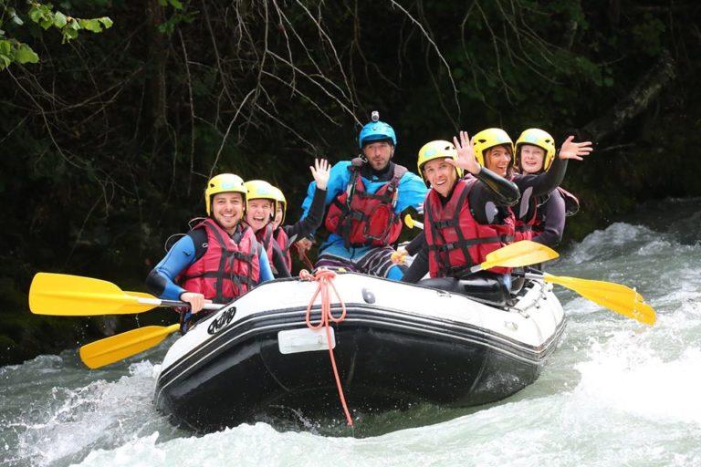 Descente en Rafting sur l'Isère pour EVG