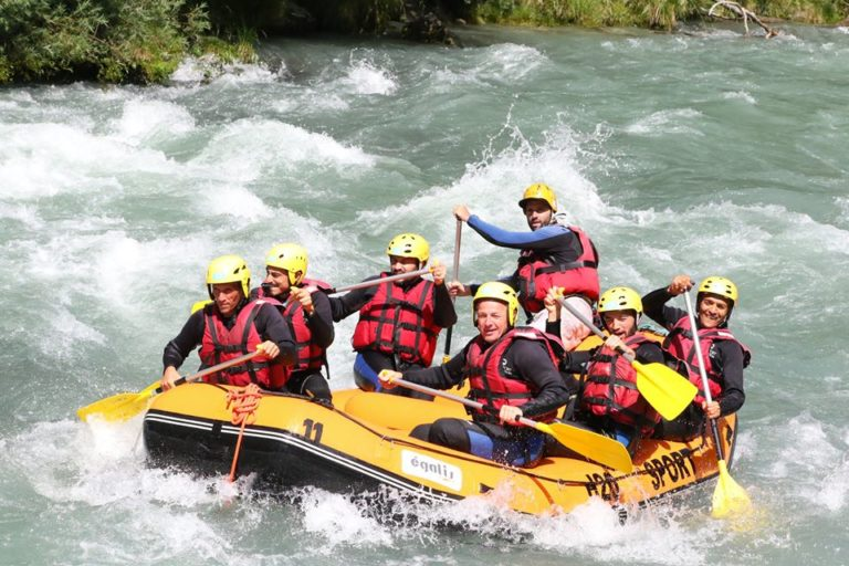 Week-end Rafting EVG proche de Lyon