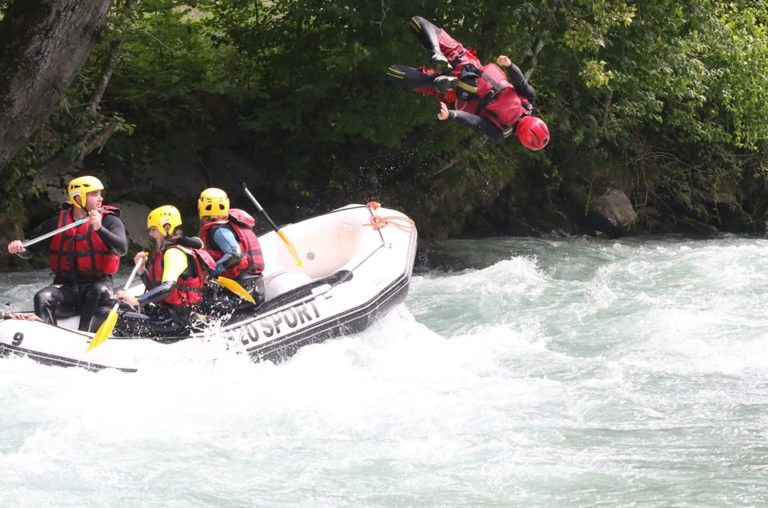 Week-end Rafting groupe d'amis