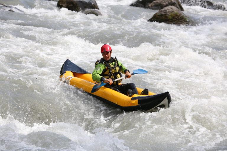 Descente en Cano-raft en Savoie