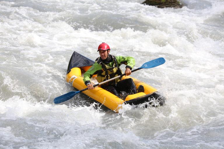 Descente sur l'Isère en Cano-raft