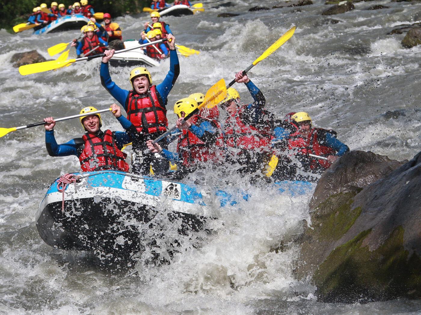 Rafting EVG en Savoie