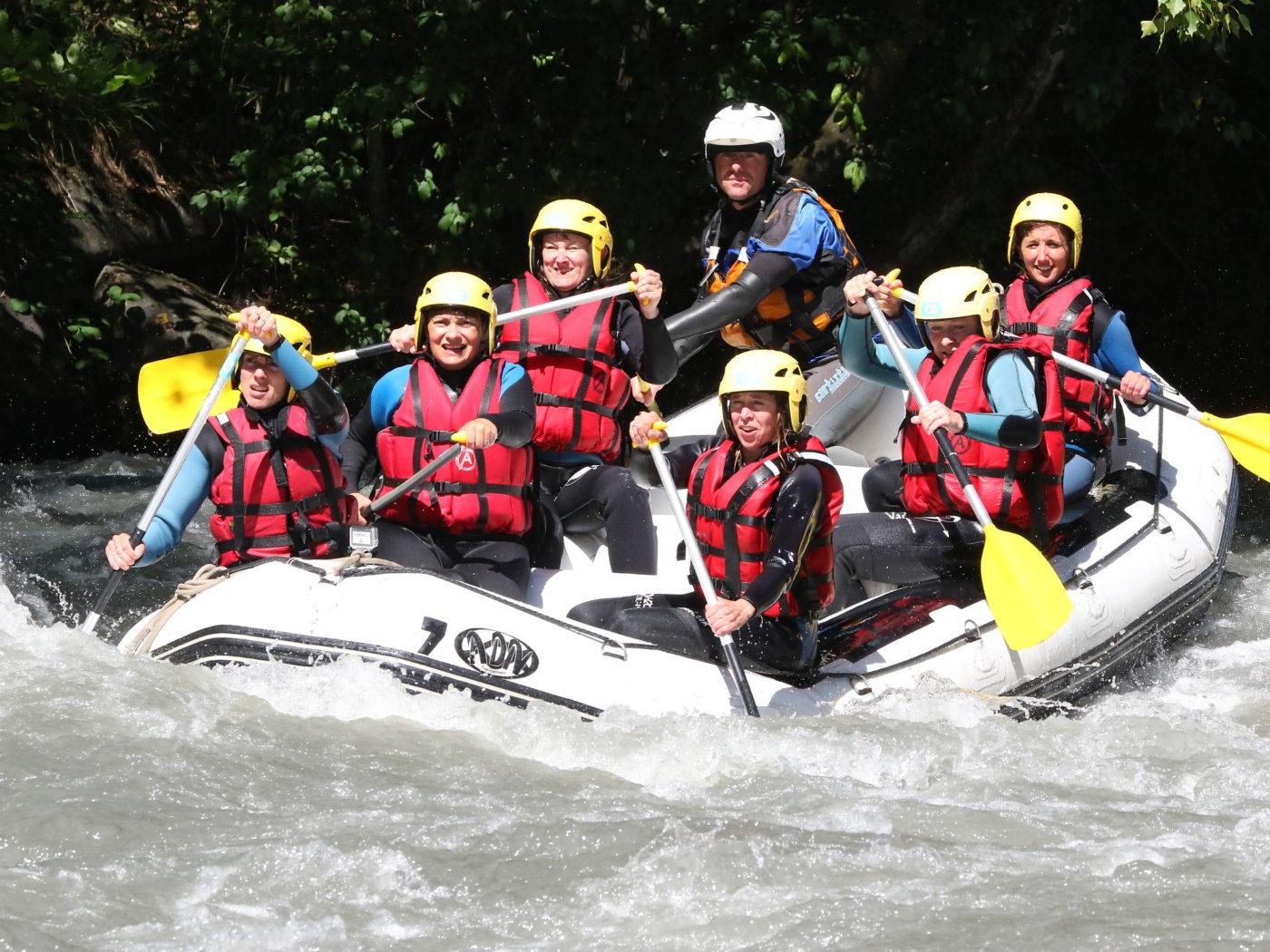 Rafting en Savoie